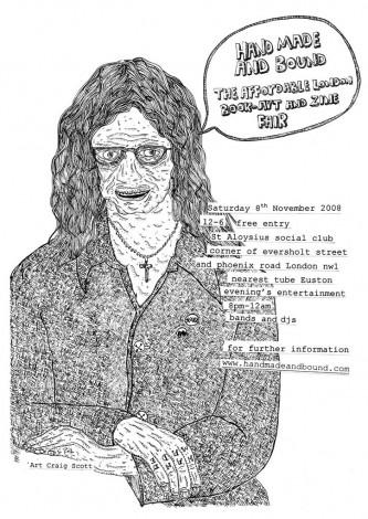 Craig Scott A3 poster 2008