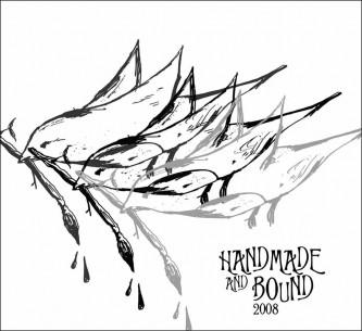 Handmade & Bound 2008 flyer by Karolina Hedstrom